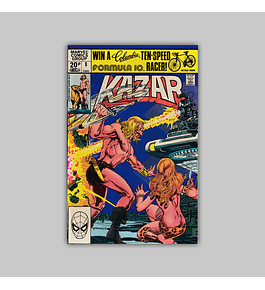 Ka-Zar the Savage 8 1981
