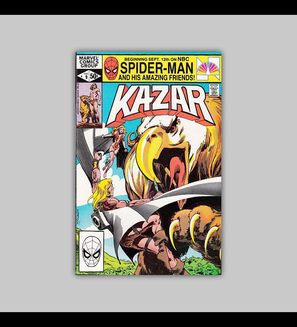 Ka-Zar the Savage 9 1981