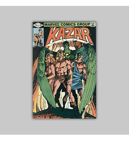 Ka-Zar the Savage 10 1982