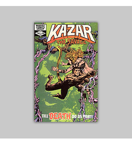 Ka-Zar the Savage 13 1982