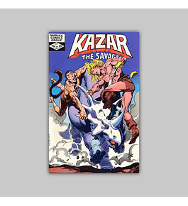 Ka-Zar the Savage 14 1982