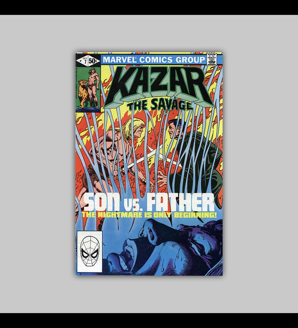 Ka-Zar the Savage 7 1981