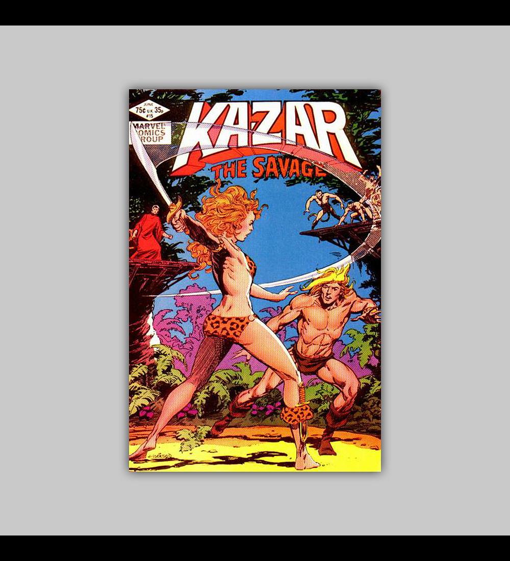 Ka-Zar the Savage 15 1982