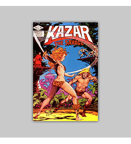 Ka-Zar the Savage 15 1982