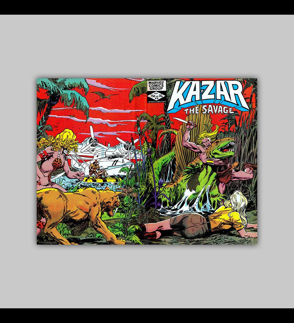 Ka-Zar the Savage 18 1982