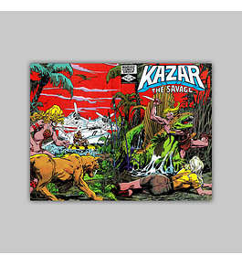 Ka-Zar the Savage 18 1982