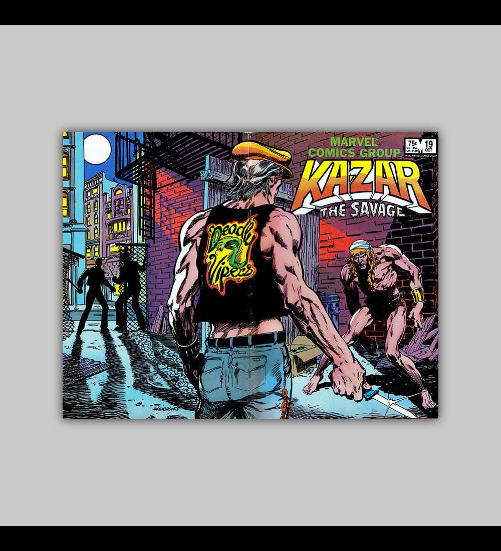 Ka-Zar the Savage 19 1982