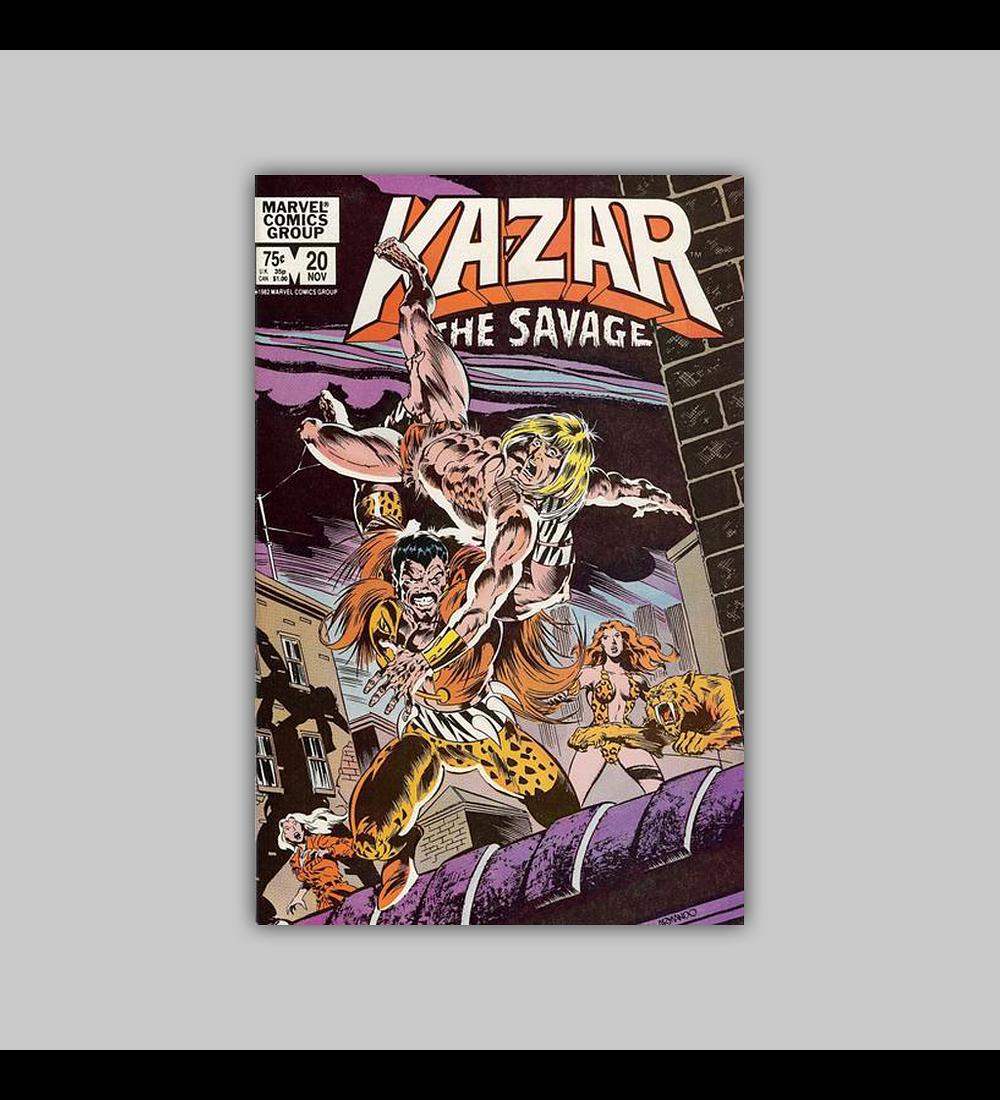 Ka-Zar the Savage 20 1982