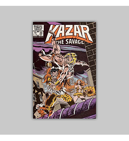 Ka-Zar the Savage 20 1982