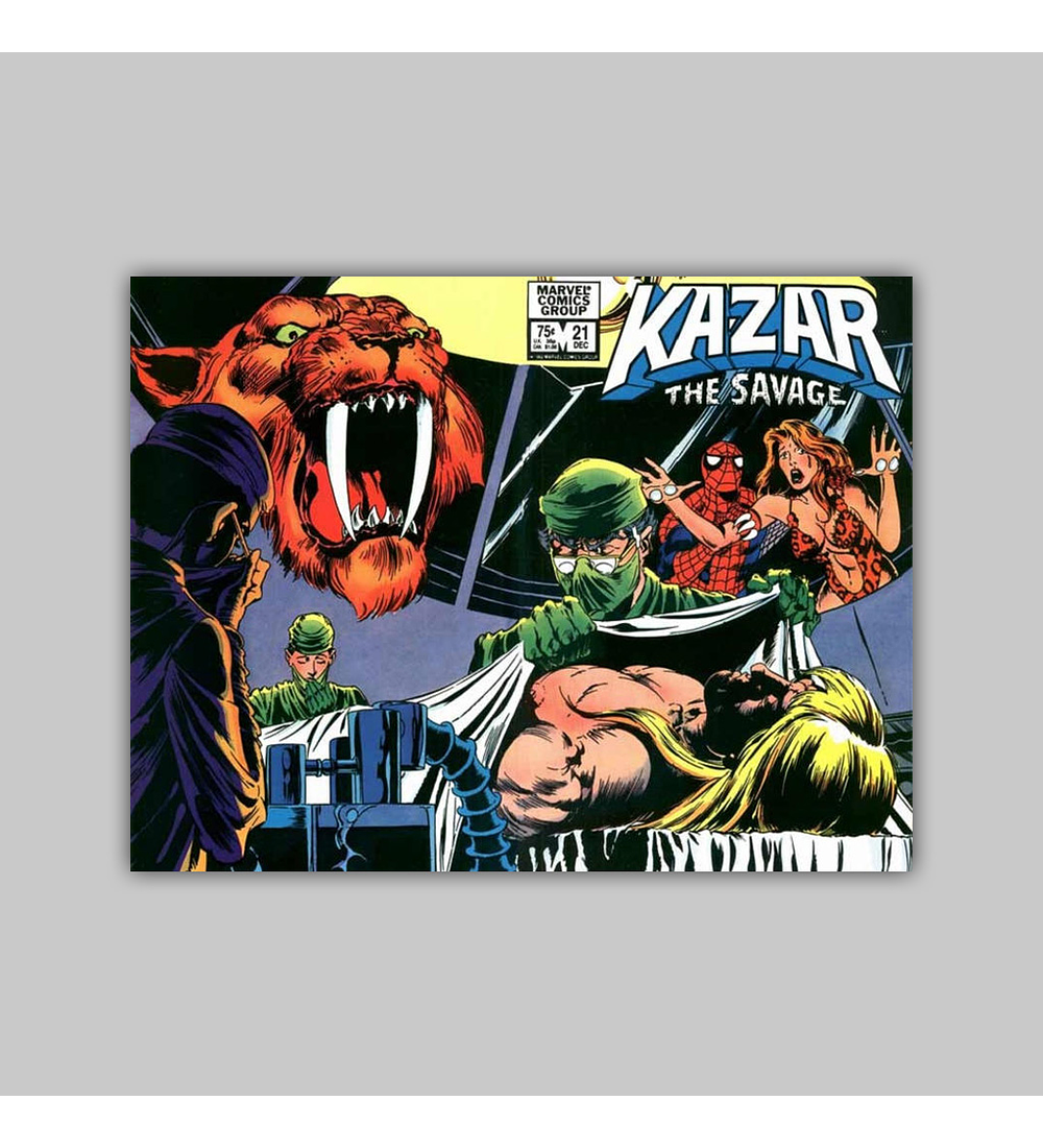 Ka-Zar the Savage 21 1982