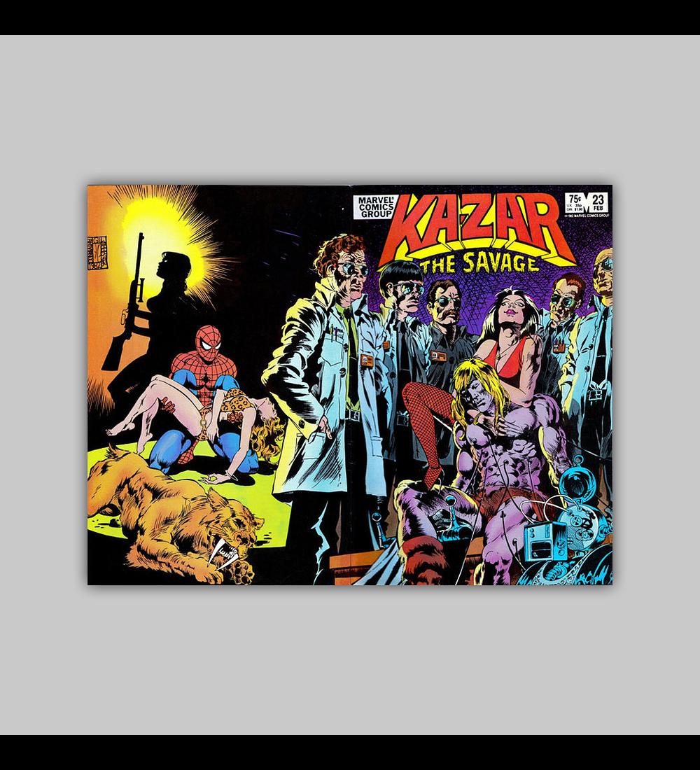 Ka-Zar the Savage 23 1983