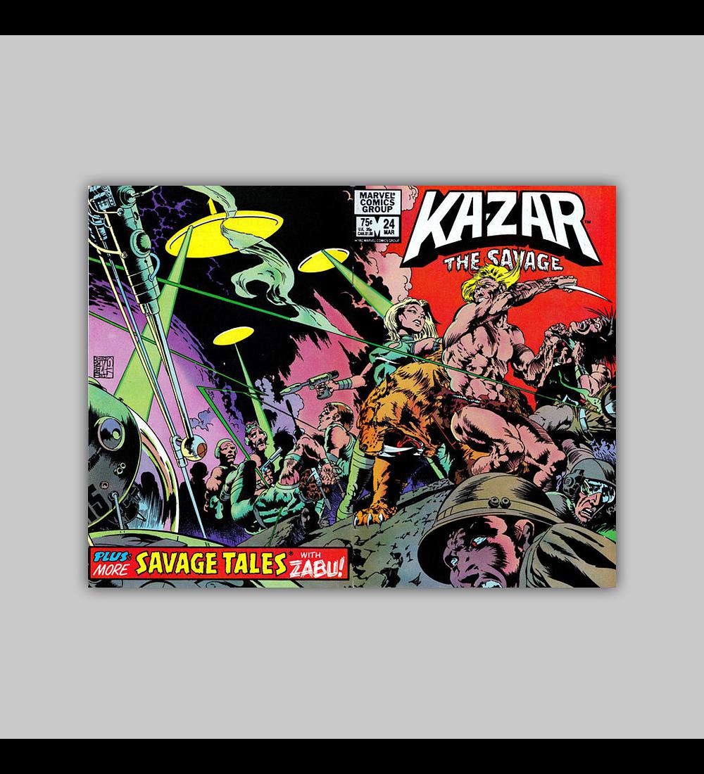 Ka-Zar the Savage 24 1983