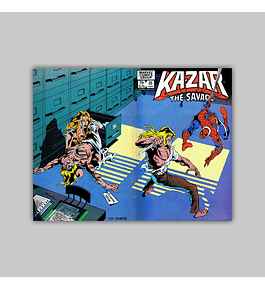 Ka-Zar the Savage 25 1983