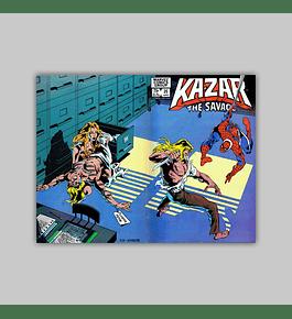 Ka-Zar the Savage 25 1983