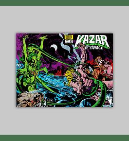 Ka-Zar the Savage 27 1983