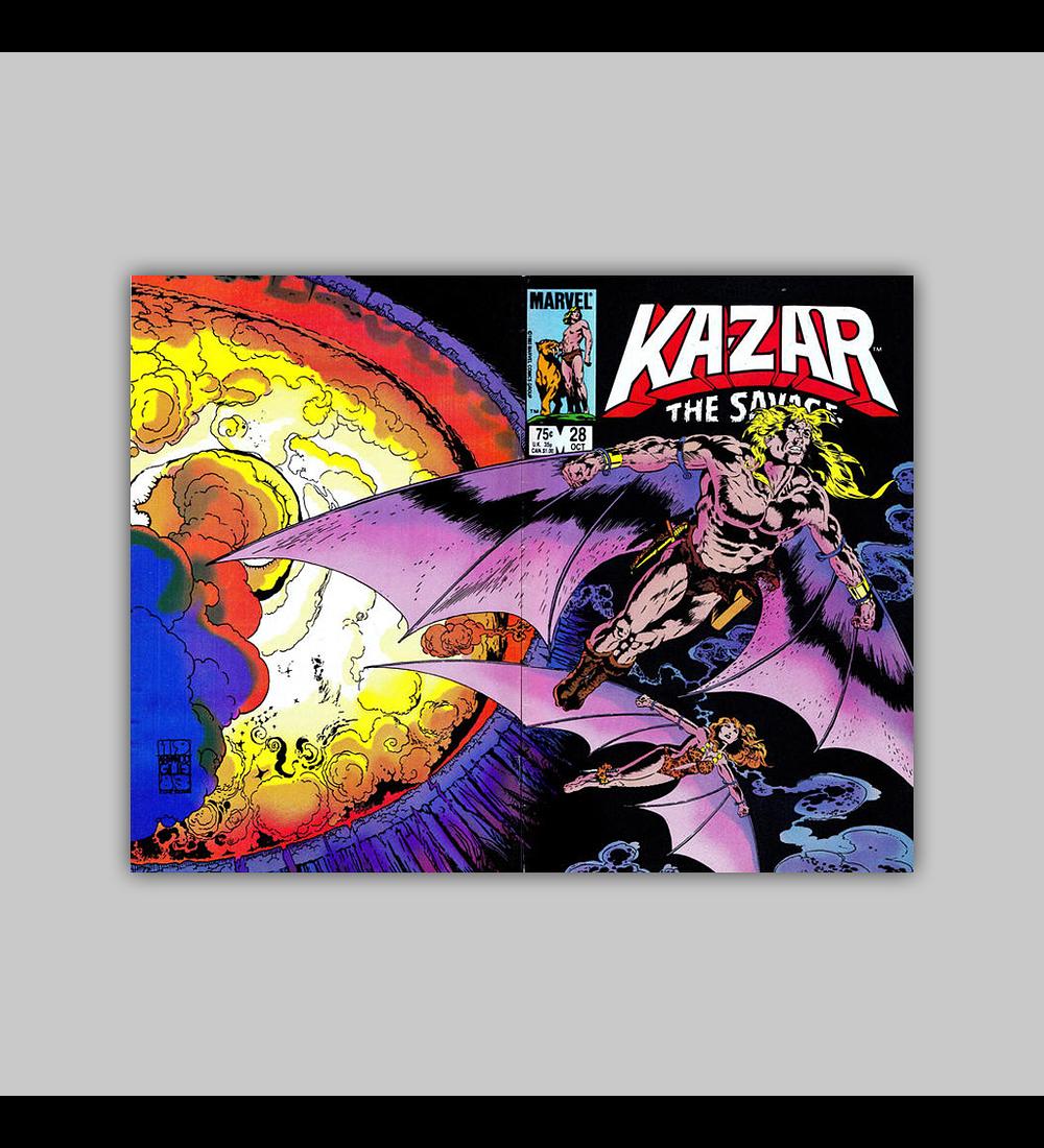 Ka-Zar the Savage 28 1983