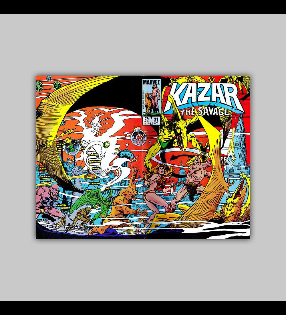 Ka-Zar the Savage 31 1984