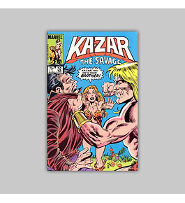 Ka-Zar the Savage 32 1984