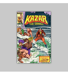 Ka-Zar the Savage 33 1984