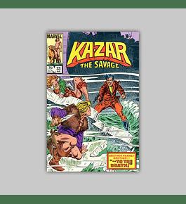 Ka-Zar the Savage 33 1984