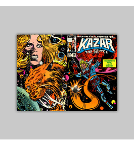 Ka-Zar the Savage 34 1984