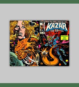 Ka-Zar the Savage 34 1984