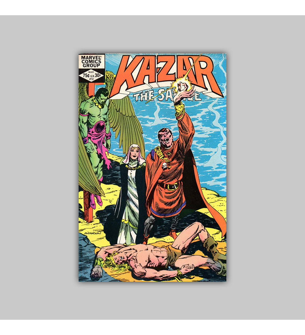 Ka-Zar the Savage 12 1982