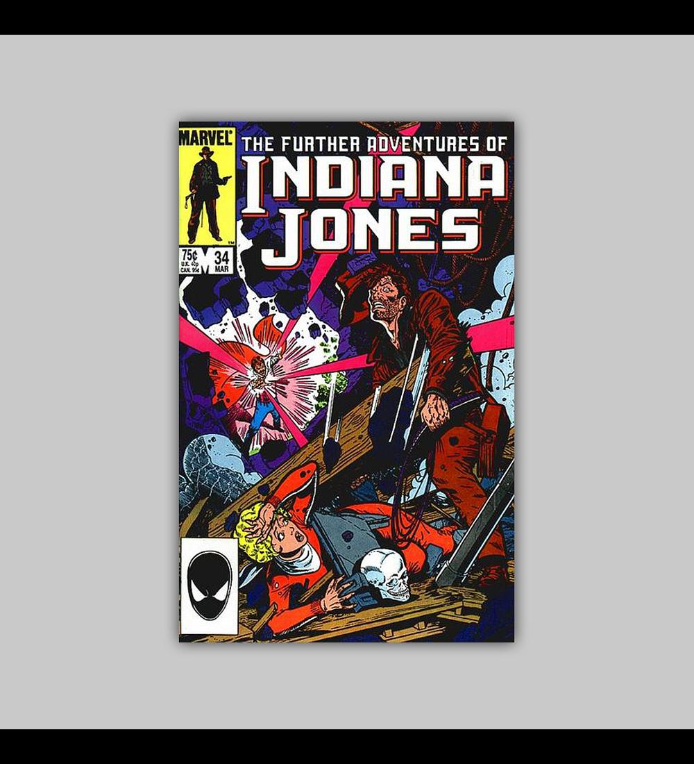 The Further Adventures of Indiana Jones 34 1986
