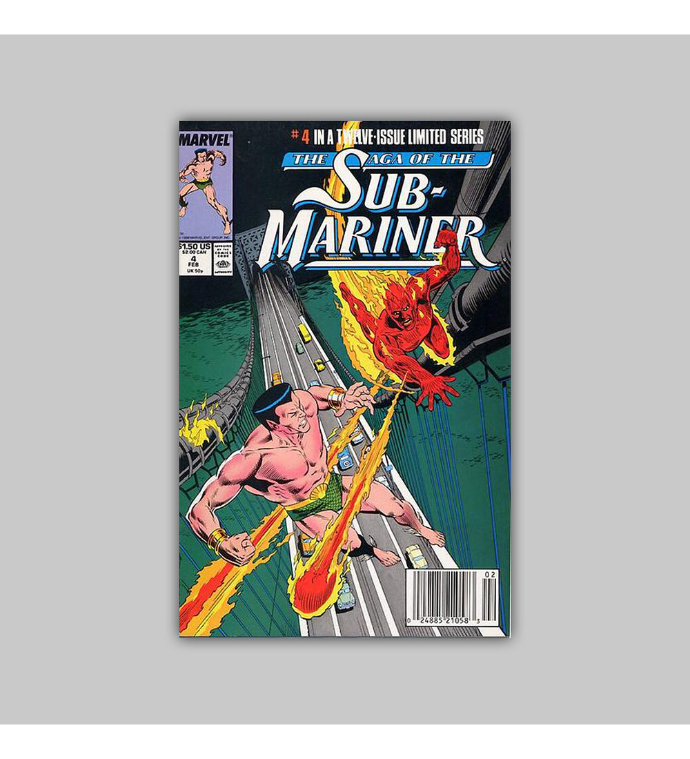 The Saga of the Sub-Mariner 4 1989