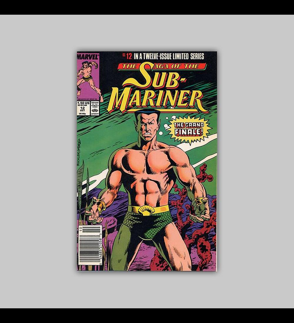 The Saga of the Sub-Mariner 12 1989