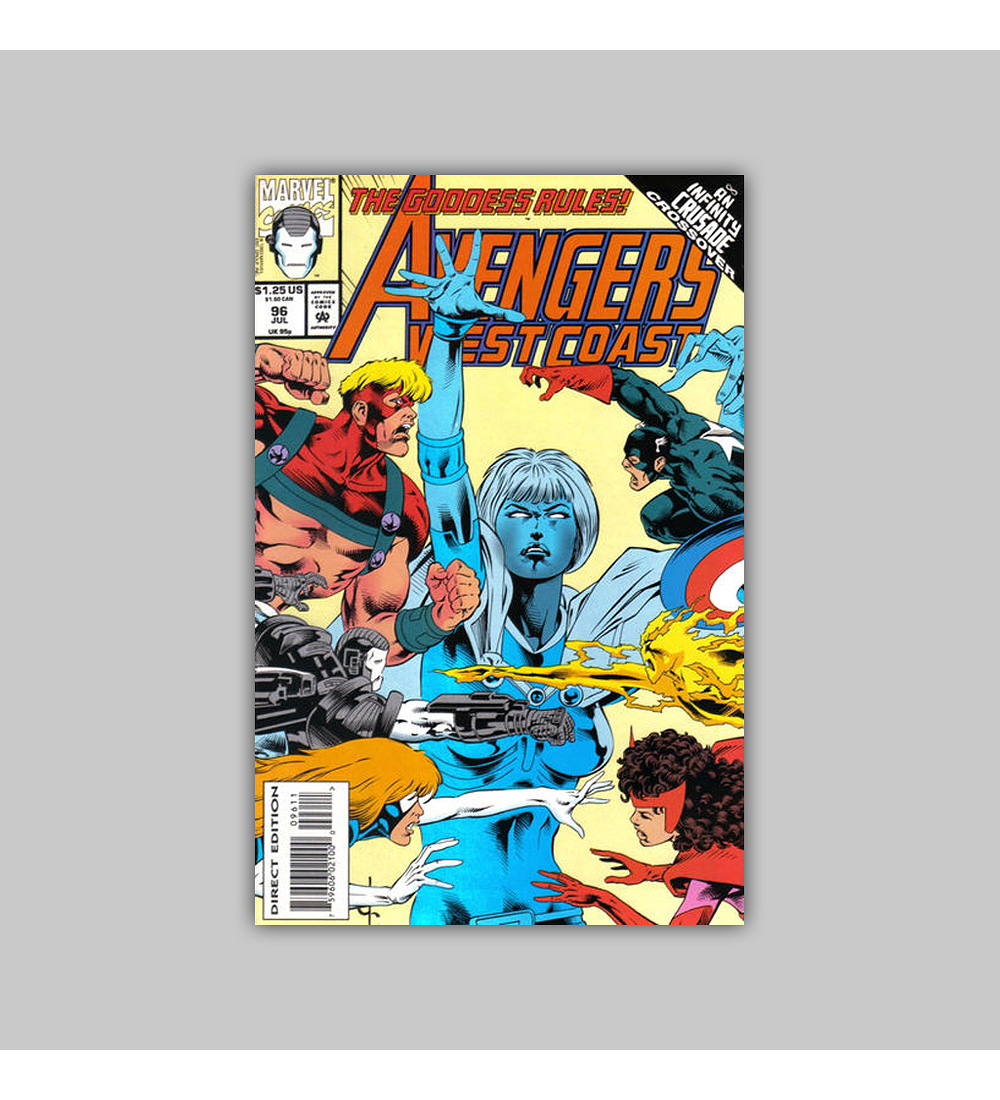 Avengers West Coast (Vol. 2) 96 1993