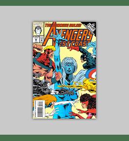 Avengers West Coast 96 1993