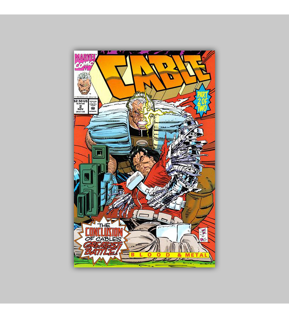 Cable: Blood & Metal (complete limited series) 1992