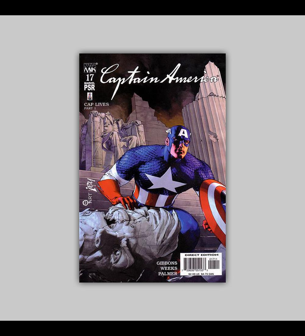 Captain America (Vol. 4) 17 2003