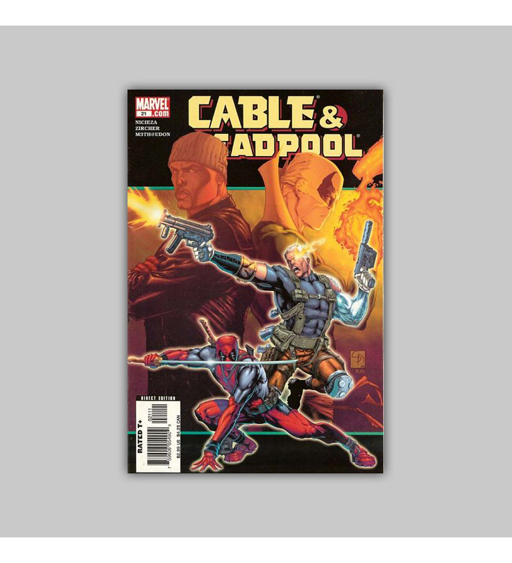 Cable & Deadpool 21 2005