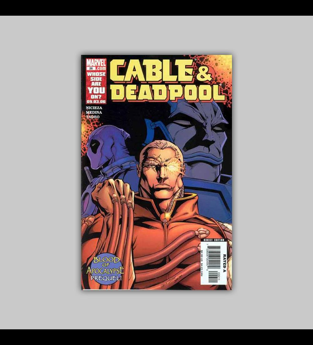 Cable & Deadpool 26 2006
