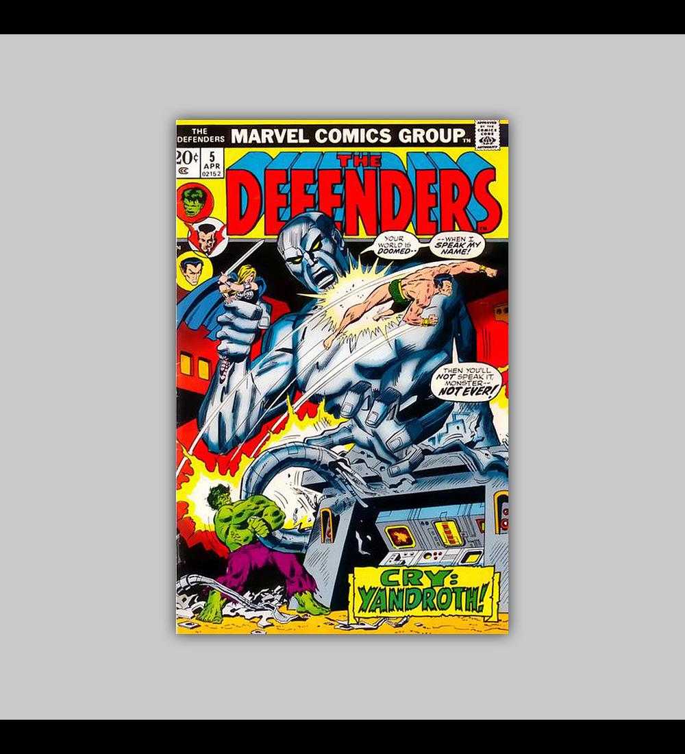 Defenders 5 VF/NM (9.0) 1972