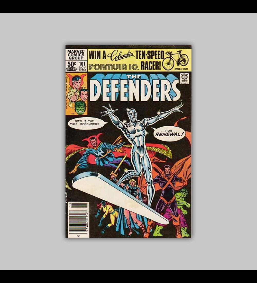 Defenders 101 VF (8.0) 1981