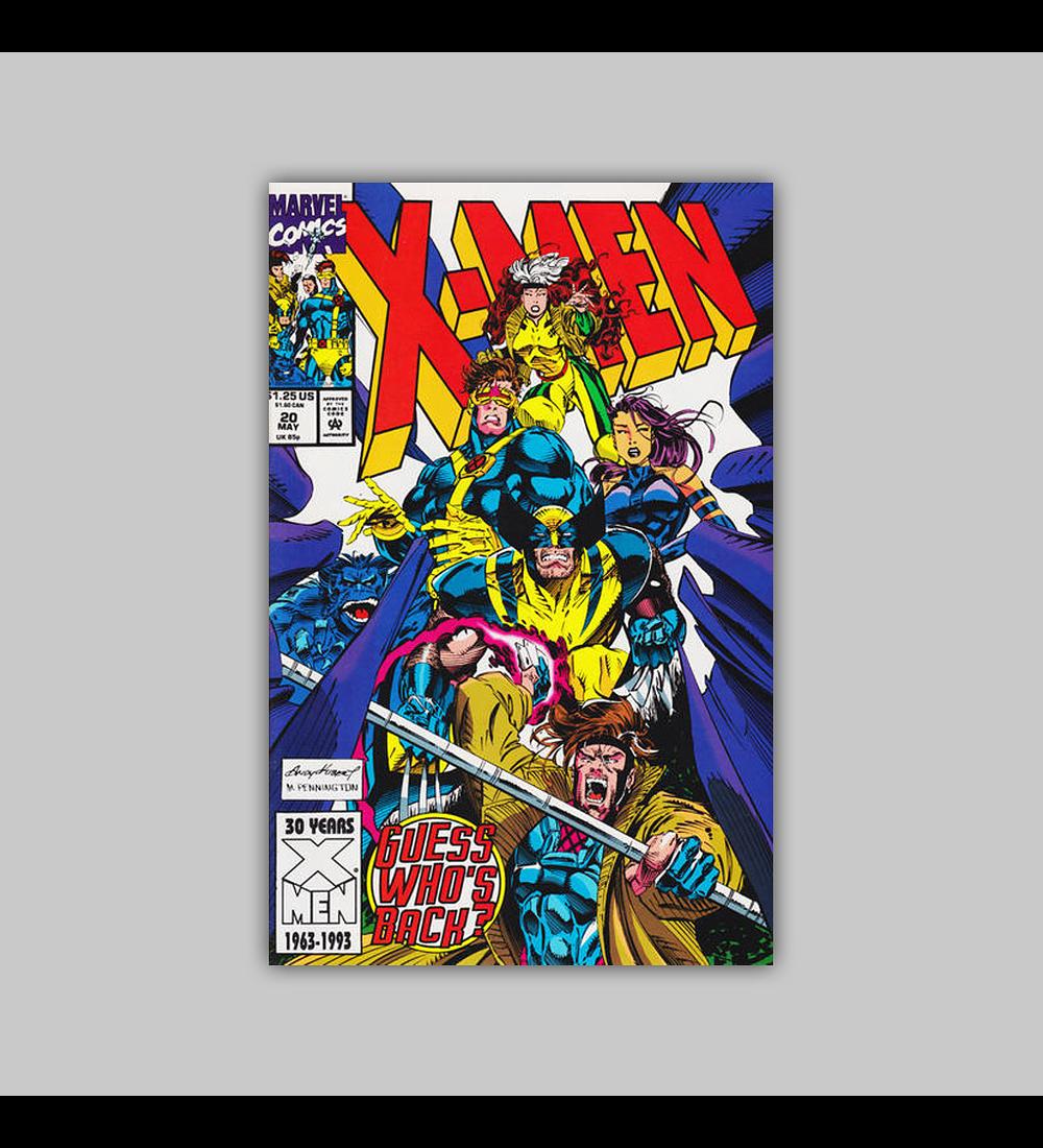 X-Men 20 1993