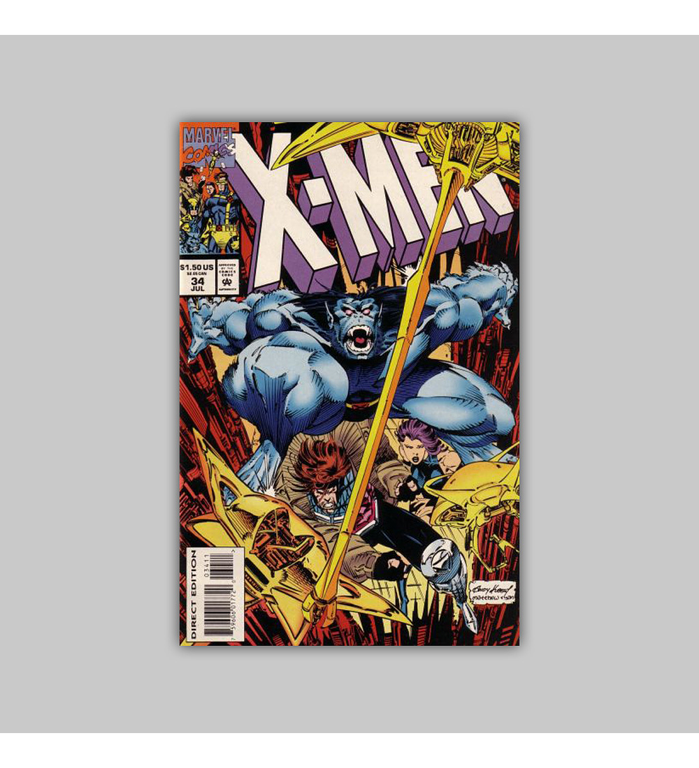 X-Men 34 1994
