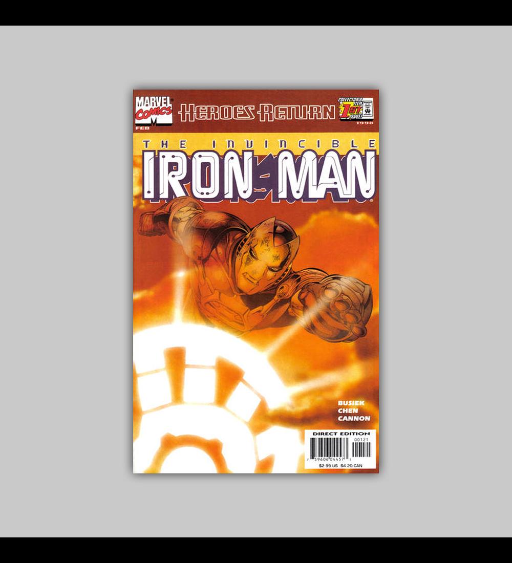 Iron Man (Vol. 3) 1 B 1998