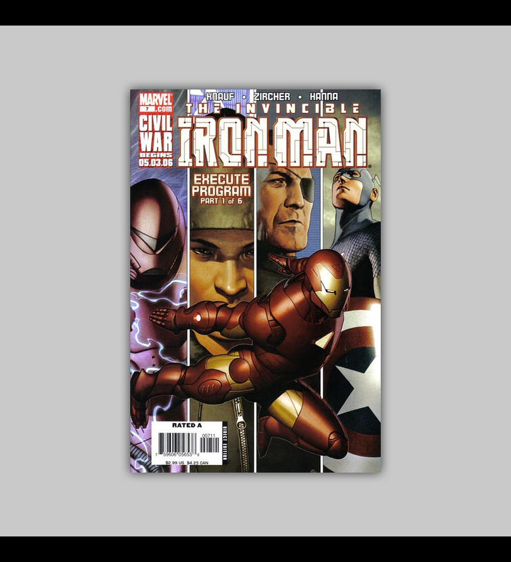 Iron Man (Vol. 4) 7 2006