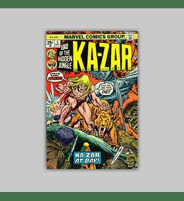 Ka-Zar 5 FN (6.0) 1974