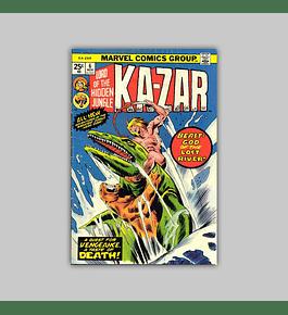 Ka-Zar 6 VF (8.0) 1974