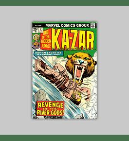 Ka-Zar 7 VF (8.0) 1975