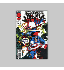 The Secret Defenders 8 1993