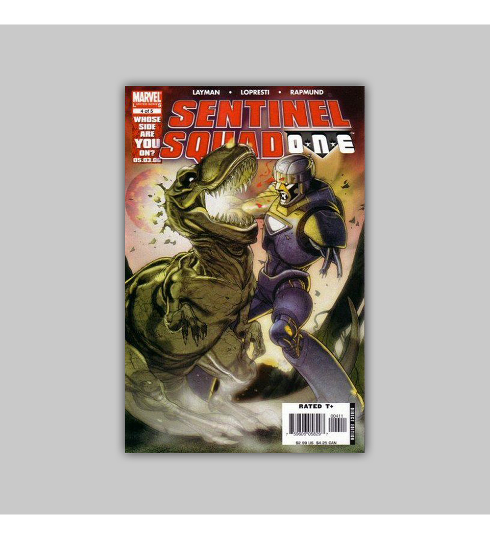 Sentinel: Squad ONE (complete limited series) 2006