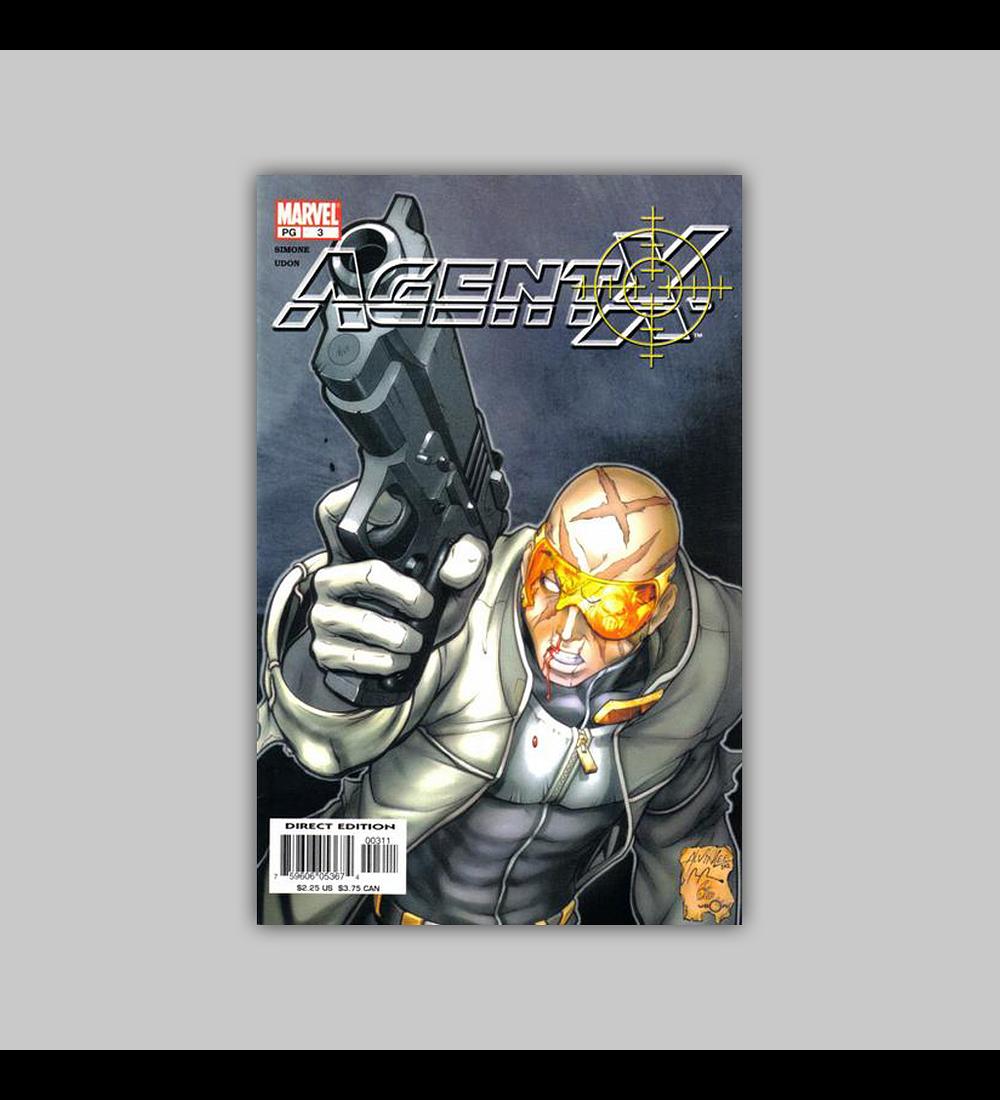 Agent X 3 2002