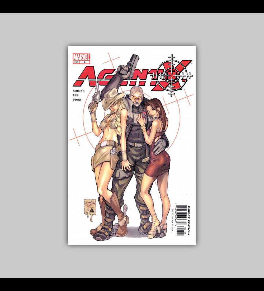 Agent X 4 2002