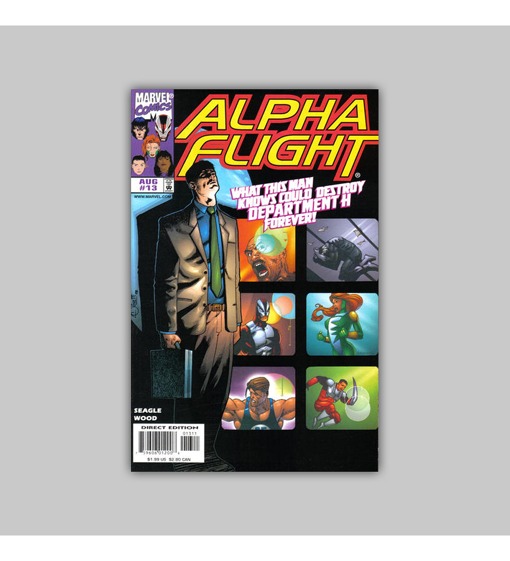 Alpha Flight (Vol. 2) 13 1998
